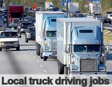 local truck driving jobs